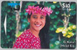 PHONE CARD- ISOLE COOK (E28.26.4 - Cookeilanden