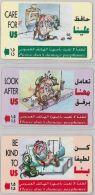LOT 3 PHONE CARD- OMAN (E28.32.2 - Oman