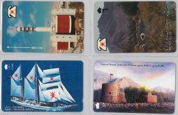 LOT 4 PHONE CARD- OMAN (E28.33.1 - Oman