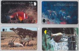 LOT 4 PHONE CARD- OMAN (E28.34.5 - Oman