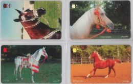 LOT 4 PHONE CARD- OMAN (E28.35.5 - Oman