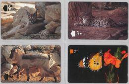 LOT 4 PHONE CARD- OMAN (E28.36.1 - Oman