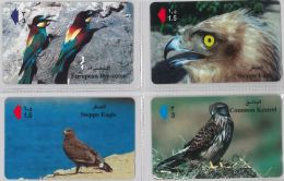 LOT 4 PHONE CARD- OMAN (E28.37.5 - Oman