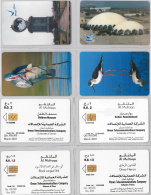 LOT 4 PHONE CARD- OMAN (E28.39.1 - Oman