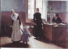 Oeuvre De édouard Gelhay, Aux Enfants Assistés, L'abandon, Musée De Senlis - Paintings