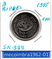 [*SK 999*] - SRI LANKA 2 Rupees 1995 F.A.O. 1945-1995 - Sri Lanka