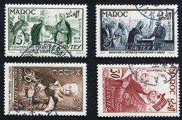 Colonie Française, Maroc N°335/8 Oblitérés, Qualité Très Beau - Maroc (1891-1956)