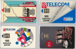 LOT 4 PHONE CARD- REPUBBLICA CECA (E29.8.1 - Czech Republic