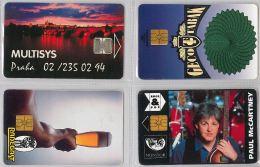 LOT 4 PHONE CARD- REPUBBLICA CECA (E29.8.5 - Czech Republic