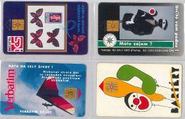 LOT 4 PHONE CARD- REPUBBLICA CECA (E29.9.1 - Czech Republic