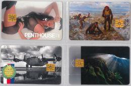 LOT 4 PHONE CARD- REPUBBLICA CECA (E29.10.1 - Czech Republic