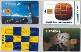 LOT 4 PHONE CARD- REPUBBLICA CECA (E29.11.1 - Czech Republic