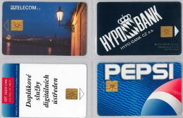 LOT 4 PHONE CARD- REPUBBLICA CECA (E29.11.5 - Czech Republic