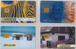 LOT 4 PHONE CARD- REPUBBLICA CECA (E29.12.1 - Czech Republic