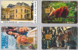 LOT 4 PHONE CARD- REPUBBLICA CECA (E29.14.5 - Czech Republic