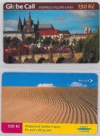 LOT 2 PREPAID PHONE CARD- REPUBBLICA CECA (E29.16.1 - Czech Republic