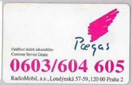 PREPAID PHONE CARD- REPUBBLICA CECA (E29.17.7 - Czech Republic