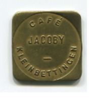 Luxembourg - Jeton Café JACOBY Kleinbettingen - ASSEZ RARE - - Tokens & Medals