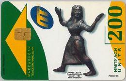 PHONE CARD- MACEDONIA (E30.19.2 - Macedonië