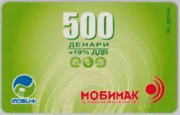 PREPAID PHONE CARD- MACEDONIA (E30.19.7 - Macedonia