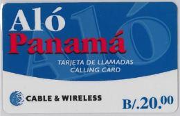 PREPAID PHONE CARD- PANAMA (E30.20.7 - Panama