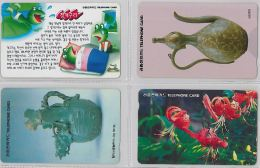 LOT 4 PHONE CARD- COREA DEL SUD (E30.24.1 - Korea, South