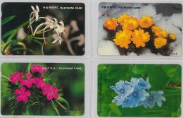 LOT 4 PHONE CARD- COREA DEL SUD (E30.25.1 - Korea, South