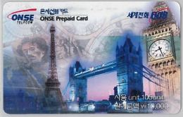 PREPAID PHONE CARD- COREA DEL SUD (E30.28.3 - Korea, South