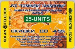 PREPAID PHONE CARD- UZBEKISTAN (E30.29.7 - Uzbekistan