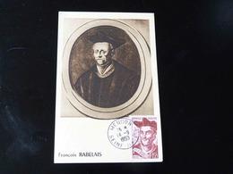 CARTE MAXIMUM    FRANCOIS RABELAIS - 1940-49