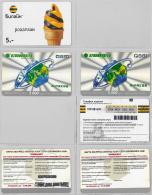 LOT 3 PREPAID PHONE CARD- UZBEKISTAN (E30.32.1 - Usbekistan