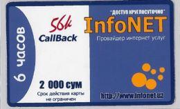 PREPAID PHONE CARD- UZBEKISTAN (E30.34.7 - Usbekistan