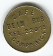 Luxembourg - Jeton Café Beim BUB Gasperich - RARE - - Tokens & Medals
