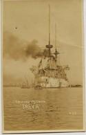 """1672 - Mexique -  BATEAU DE GUERRE - CRUCERO ALEMAND -  CROISEUR  ALLEMAND """"  FREYA """"  - Carte Photo - Mexique"""