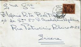 Portugal , 1965 , Portel  Postmark , Medieval Knight 1$00 Stamp - Marcofilia