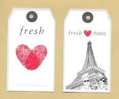 Carte Promo FRESH * PARIS * 7 X 12 Cm * R/V - Modernes (à Partir De 1961)