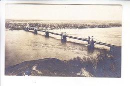 UKRAINE KIEV BRIDGE. GERMAN OCCUPATION 1918 Real Photo - Ukraine