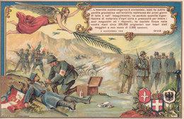 CARD GUERRA 1918  VITTORIA ALATA SOLDATO ITAL.CROCE ROSSA CURA NEMICO CADUTO PRIGIONIERO 2 SCAN -FP-N-2-0882-28301-300 - Weltkrieg 1914-18