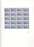 Deutsches Reich 79 Schalterbogen Faksimiledruck Der Deutschen Post Auf Karton - Deutschland