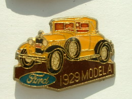 PIN'S FORD MODEL A 1929 - Ford