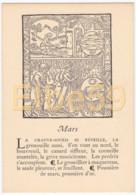 Gravure (reproduction), Le Mois De L'année, Mars, De Nicolas Le Rouge, Troyes, 1496, Neuve - Fiabe, Racconti Popolari & Leggende