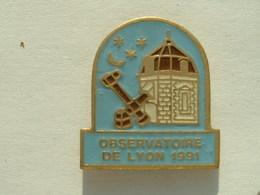 PIN'S OBSERVATOIRE DE LYON - Space