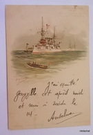 Croiseur Blindé Type Amiral Charner,Bruix,Latouche Treville,Chanzy - Guerre