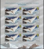 Russland Russia 2018 MNH ** Mi Nr.2538 KB Great Arctic State Nature Reserve  M - Owls