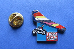 Pin's, MOTO SPORT SCHWEIZ, Journal, Moto, Delta - Motorbikes