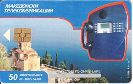 F.Y.R.O.M. - Cardphone(50 Units), Chip GEM3.3, Tirage %50000, 09/02, Used - Macedonia