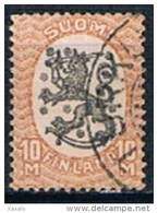 Finland 1927-29 - Standing Lion - Used Stamps