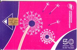 F.Y.R.O.M. - Pink & Blue Design, Chip GEM3.3, Tirage %30000, 11/04, Used - Macedonia