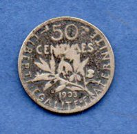 50 Centimes 1903  -  état B+ --  Rare - G. 50 Centesimi