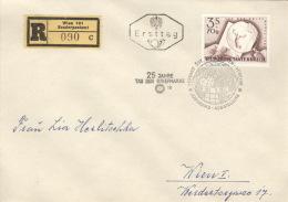 Österreich 1083 Auf R-FDC - FDC
